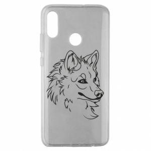 Huawei Honor 10 Lite Case Big evil wolf