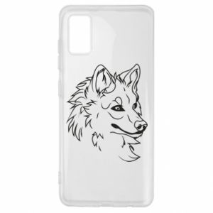 Samsung A41 Case Big evil wolf