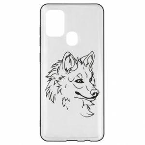 Samsung A21s Case Big evil wolf
