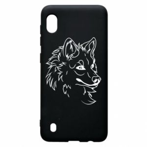 Samsung A10 Case Big evil wolf