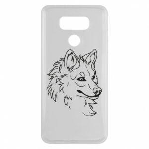 LG G6 Case Big evil wolf