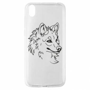 Huawei Y5 2019 Case Big evil wolf