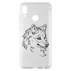 Huawei P Smart 2019 Case Big evil wolf