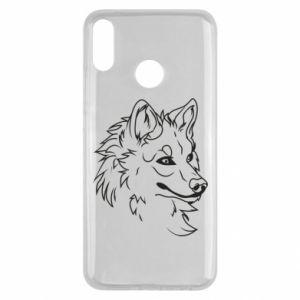 Huawei Y9 2019 Case Big evil wolf