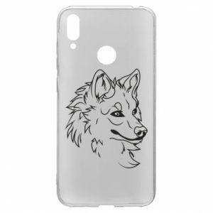 Etui na Huawei Y7 2019 Wielki zły wilk