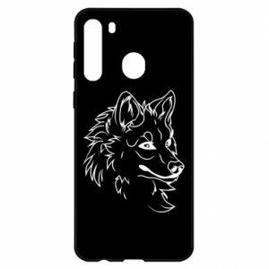 Etui na Samsung A21 Wielki zły wilk