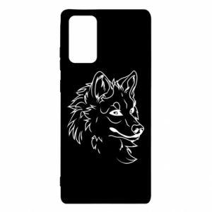 Etui na Samsung Note 20 Wielki zły wilk