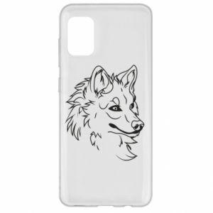 Etui na Samsung A31 Wielki zły wilk