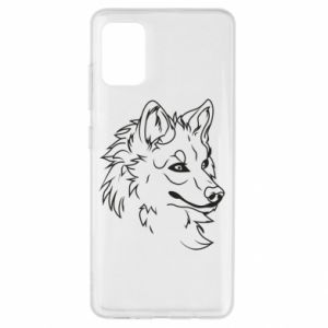 Etui na Samsung A51 Wielki zły wilk