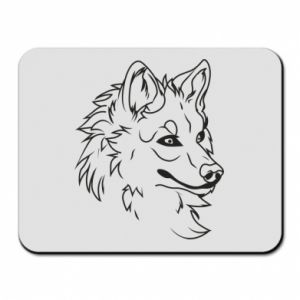 Mouse pad Big evil wolf