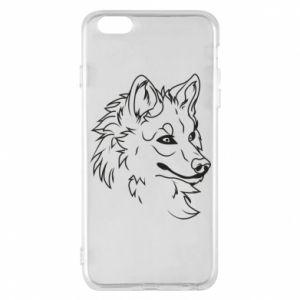iPhone 6 Plus/6S Plus Case Big evil wolf