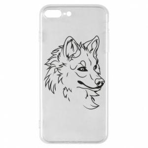 iPhone 7 Plus case Big evil wolf