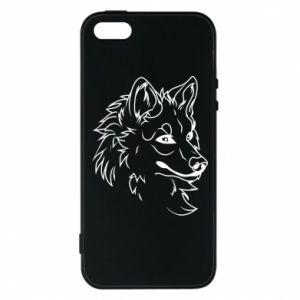 iPhone 5/5S/SE Case Big evil wolf