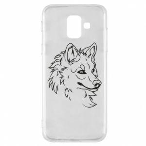 Samsung A6 2018 Case Big evil wolf