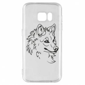 Samsung S7 Case Big evil wolf