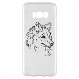 Samsung S8 Case Big evil wolf