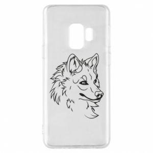 Samsung S9 Case Big evil wolf