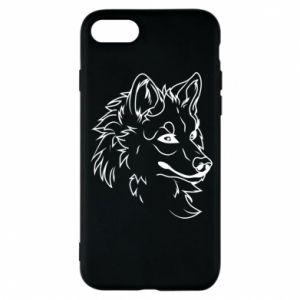 iPhone 8 Case Big evil wolf