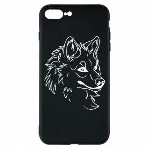 iPhone 8 Plus Case Big evil wolf