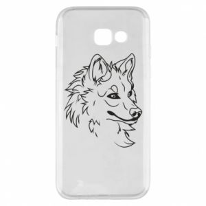 Samsung A5 2017 Case Big evil wolf