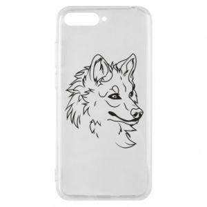 Huawei Y6 2018 Case Big evil wolf