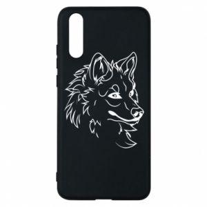 Huawei P20 Case Big evil wolf