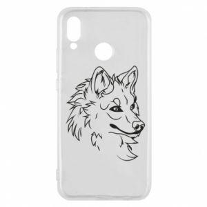 Huawei P20 Lite Case Big evil wolf