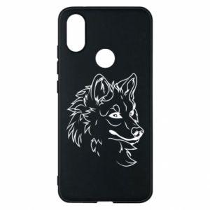 Xiaomi Mi A2 Case Big evil wolf
