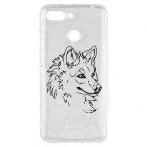 Xiaomi Redmi 6 Case Big evil wolf