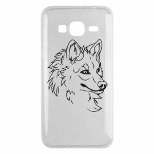 Samsung J3 2016 Case Big evil wolf
