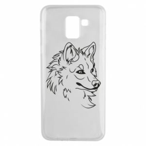 Samsung J6 Case Big evil wolf
