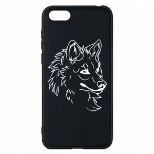 Huawei Y5 2018 Case Big evil wolf