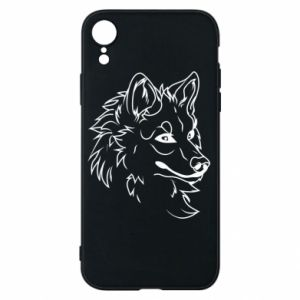 iPhone XR Case Big evil wolf