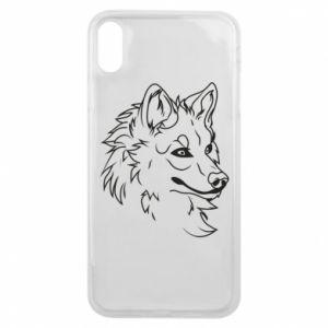 iPhone Xs Max Case Big evil wolf
