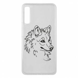 Samsung A7 2018 Case Big evil wolf