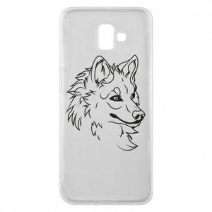 Samsung J6 Plus 2018 Case Big evil wolf