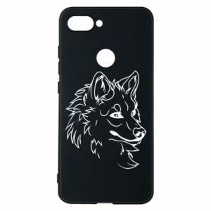 Xiaomi Mi8 Lite Case Big evil wolf