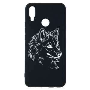 Huawei P Smart Plus Case Big evil wolf