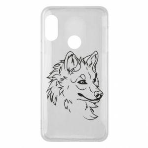 Mi A2 Lite Case Big evil wolf