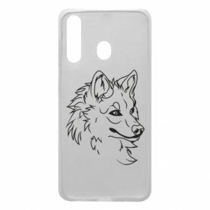 Samsung A60 Case Big evil wolf