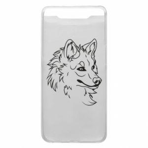 Samsung A80 Case Big evil wolf