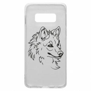 Samsung S10e Case Big evil wolf