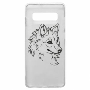 Samsung S10+ Case Big evil wolf