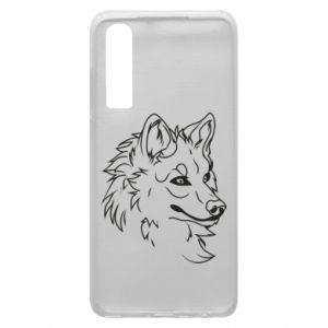 Huawei P30 Case Big evil wolf