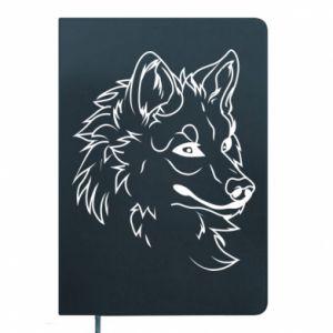 Notepad Big evil wolf