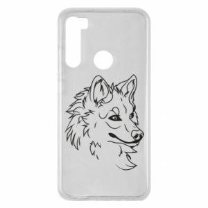 Xiaomi Redmi Note 8 Case Big evil wolf