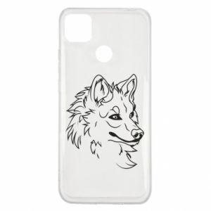 Xiaomi Redmi 9c Case Big evil wolf