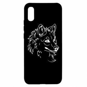 Xiaomi Redmi 9a Case Big evil wolf