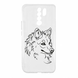 Xiaomi Redmi 9 Case Big evil wolf
