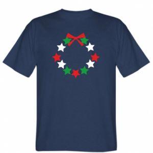 T-shirt A wreath of stars
